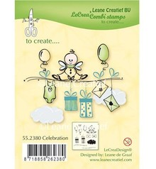Leane Creatief - Lea'bilities Transparent stamp: Celebration