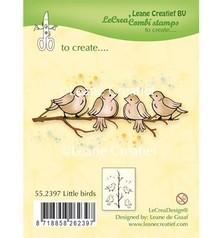 Leane Creatief - Lea'bilities Gennemsigtig Stempel: Little Birds