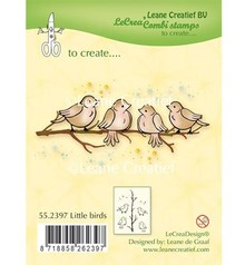 Leane Creatief - Lea'bilities Sello transparente: Little Birds