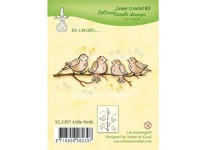 Leane Creatief - Lea'bilities Transparent Stempel: Little Birds
