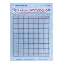 Stempling værktøj til gennemsigtige frimærker
