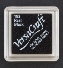 FARBE / STEMPELINK Ink pad, 33 x 33mm, black