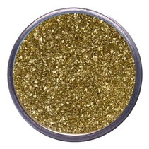 Embossing powder, metallic color, rich gold