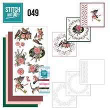 "BASTELSETS / CRAFT KITS: ricamare mappa Sito ""Uccelli"""