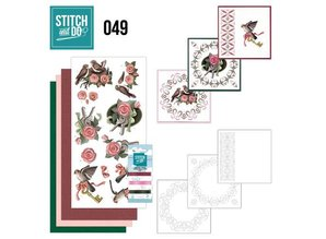 "BASTELSETS / CRAFT KITS: para bordar conjunto de mapas ""Birds"""