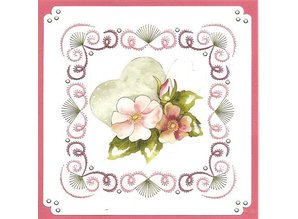 "BASTELSETS / CRAFT KITS: a ricamare Card Set ""Matrimonio"""