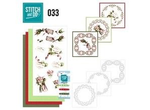 """BASTELSETS / CRAFT KITS: ricamare mappa Sito """"Roses"""""""