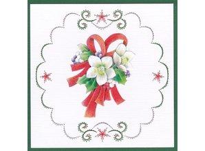 BASTELSETS / CRAFT KITS: Kartenset ricamare per, tema del Natale