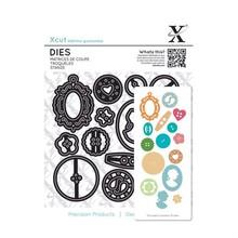 X-Cut / Docrafts Stanzschablonen: Knöpfen
