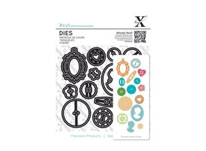 X-Cut / Docrafts Stamping templates: buttons