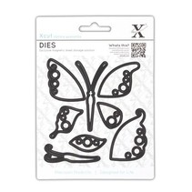 Stamping stencils: Butterfly