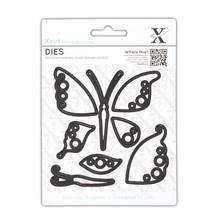 X-Cut / Docrafts Stanzschablonen: Schmetterling