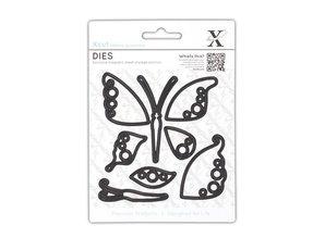 X-Cut / Docrafts Skæring dies: Butterfly