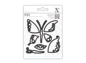X-Cut / Docrafts Stamping stencils: Butterfly