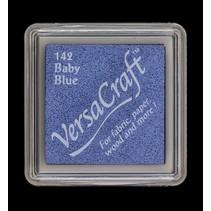 cojín de tinta, 33 x 33 mm, azul de bebé