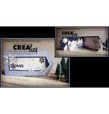 Crealies und CraftEmotions Stanzschablonen: 3 Mini Bordüren