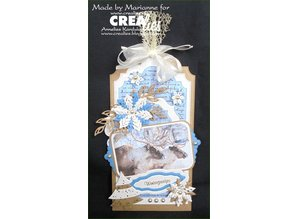 Crealies und CraftEmotions Stamping stencils: 3 mini borders