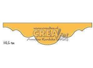 Crealies und CraftEmotions Stanzschablonen: Bordüre