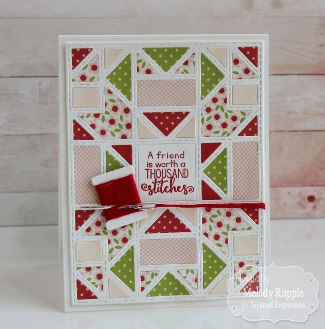 Tattered Lace Stamping template: Quilted frame - Checkout has been ...
