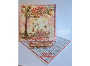Tattered Lace Stansning skabelon: Cherry Tree