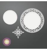 CREATIVE EXPRESSIONS und COUTURE CREATIONS Stansning skabelon: Northstar mellemlægsserviet Set