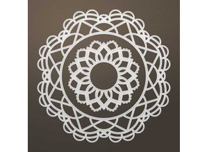CREATIVE EXPRESSIONS und COUTURE CREATIONS Stanzschablone: Filigranes doily SET