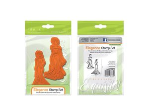 TONIC Gummi stempel SET: Elegance Ladies