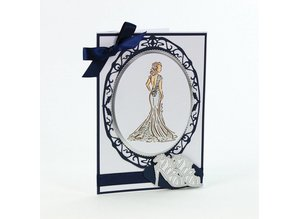 TONIC Rubber stamp SET: Elegance Ladies