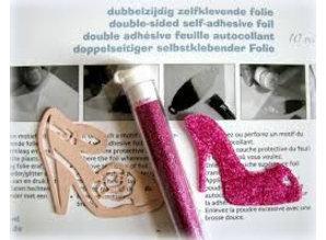 Joy!Crafts plantilla de perforación: dos zapatos, a sólo 1 en stock