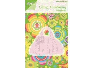 Joy!Crafts Stansning skabelon: håndtaske, kun 1 på lager
