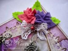 Joy!Crafts Stanzschablone: 4 Blumen mit 6 Blütenblätter