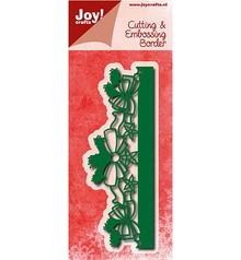 Joy!Crafts plantilla de perforación: Frontera con los arcos