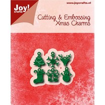 Stamping template: 6 Charms
