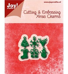 Joy!Crafts plantilla de perforación: 6 Charms