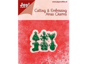 Joy!Crafts Stamping template: 6 Charms