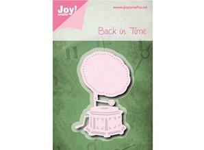 Joy!Crafts Stansning skabelon: tilbage i tiden - Grammafoon