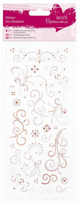 Sticker Stickers glitter dots, ornaments