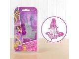 DISNEY Stansmessen SET: Disney + stempel Dreamy Rapunzel gezicht