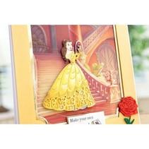 Stansmessen SET: Disney + stempel Enchanted Belle Gezicht