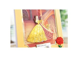 DISNEY Skæring dør SET: Disney + stemple Enchanted Belle Face