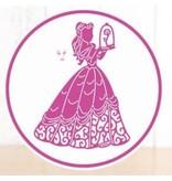 DISNEY Troqueles de corte SET: Disney Encantado + sello Belle Face