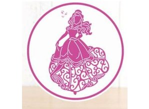 DISNEY Stamping templates SET: Disney + stamp Princess Waltzing Belle face