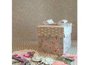 Crafter's Companion Designersblock, malede blomster