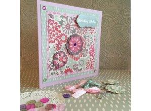 Crafter's Companion fioriture Designersblock, dipinte
