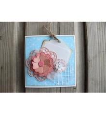 Joy!Crafts troqueles de corte, flor del corazón de Mery