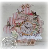 BASTELSETS / CRAFT KITS: SET: Cupcake Shabby Chic