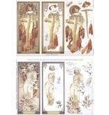 "BILDER / PICTURES: Studio Light, Staf Wesenbeek, Willem Haenraets Die hojas sueltas: ""Art Nouveau"" con diferentes fotos - sólo el 5 disponible!"