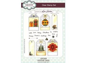 CREATIVE EXPRESSIONS und COUTURE CREATIONS Clear, Transparent Stempel
