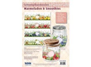 Schrumpfbanderolen Marmelade/Smoothies, 9 cm