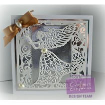 Stamping template: Angel